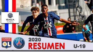 Olympique Lyonnais vs Paris Saint Germain Coupe Gambardella 2020 U 19