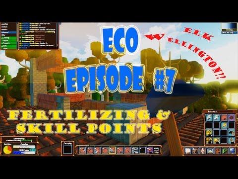 Eco 5.5 gameplay episode 7 | Elk wellington | skill points | fertilizing |