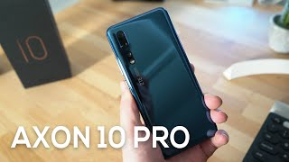ZTE Axon 10 Pro first look: the new flagship killer?
