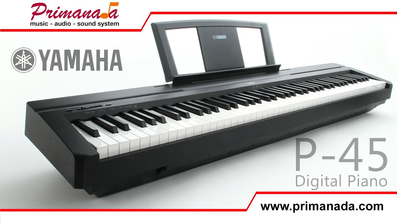 yamaha p 45 digital piano overview youtube. Black Bedroom Furniture Sets. Home Design Ideas