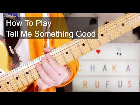 'Tell Me Something Good' Rufus & Chaka Khan Guitar Lesson