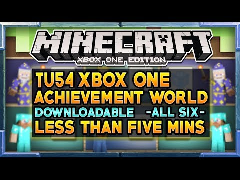 Minecraft Achievements Tu54 Update All Achievements Xbox One Windows