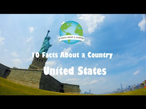 10 Facts About a Country The United States USA