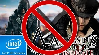 ASSASSINS CREED : SYNDICATE (LOW END PC TEST) (4 GB RAM) [INTEL HD 4000, i3-3110M]