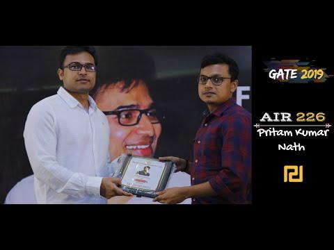 AIR 226 GATE CS 2019 - Pritam Kumar Nath