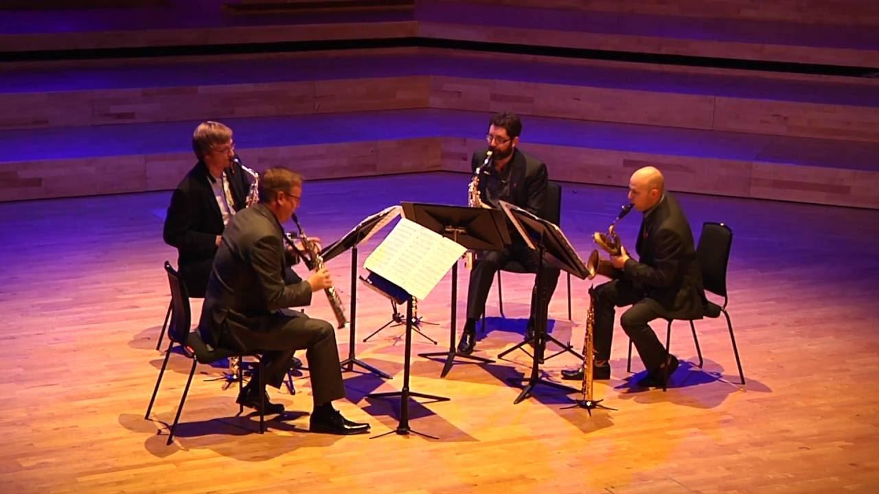 Saxophone Quartet by Richard Rodney Bennett (Mvt 1)