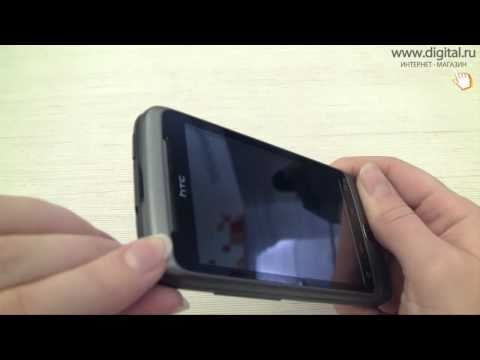 Видеообзор смартфона HTC Desire Z