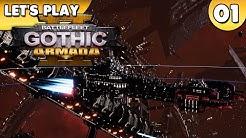 Let's Play Battlefleet Gothic Armada 2 Gameplay 👑 #001 [Deutsch/German][1440p]
