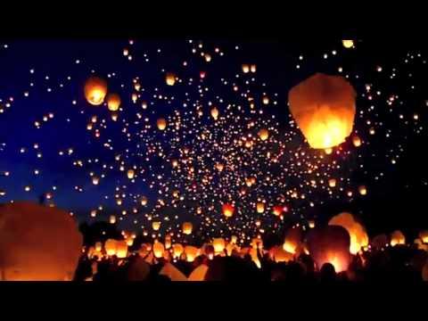 Lanterns Wallpaper Hd 8 000 Farolillos De Papel Flotan En El Cielo Toppli Com