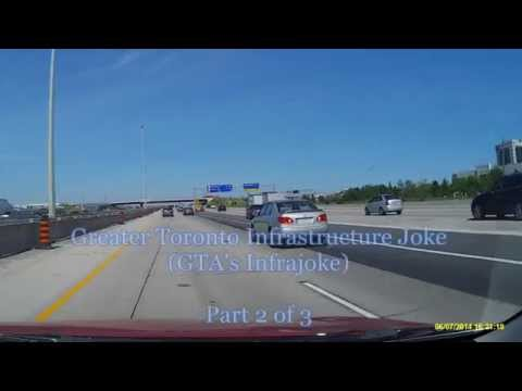 Toronto Sightseeing, Greater Toronto Infrastructure Joke, Toronto Canada, Part 2 of 3