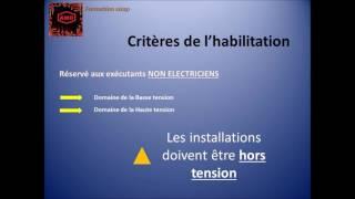Habilitation électrique - Film n° 3