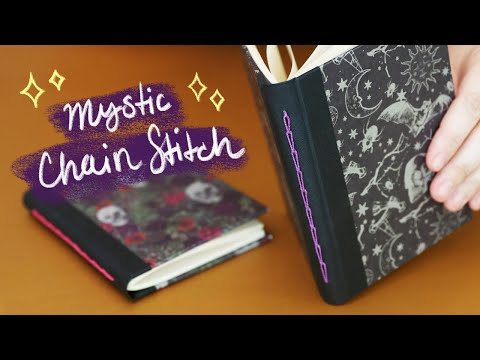 DIY Chain Stitch Bookbinding Tutorial | Sea Lemon