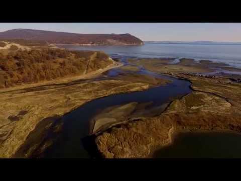 Полеты над Колымой. Устье реки Магаданки