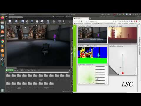 Nvidia Isaac RMP220 Warehouse Part1 LSC