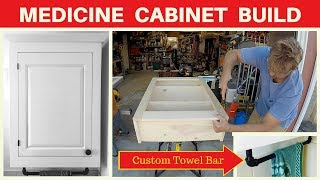 How To Build A Medicine Cabinet - DIY Woodworking Project - Bathroom Remodel