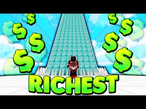Making the RICHEST skyblock Island! Minecraft Skyblock with RyanPlayz #1