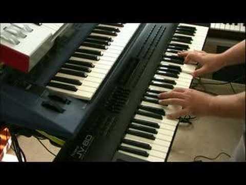 Roland JV synthesizer