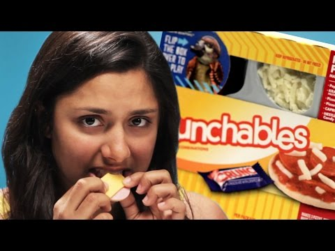Thumbnail: '90s Kids Try Lunchables As Adults