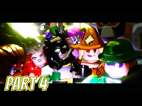 LEGO Dimensions The LEGO Batman Movie Story Part 4 Attack of the Uber Villains (100% Completion)