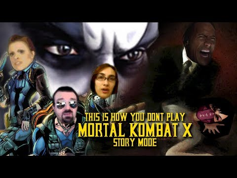 This Is How You DON'T Play Mortal Kombat X: Story Mode