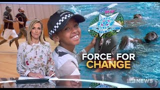 African Refugees Affirmative Actioned For Police.(Victoria) Nine News