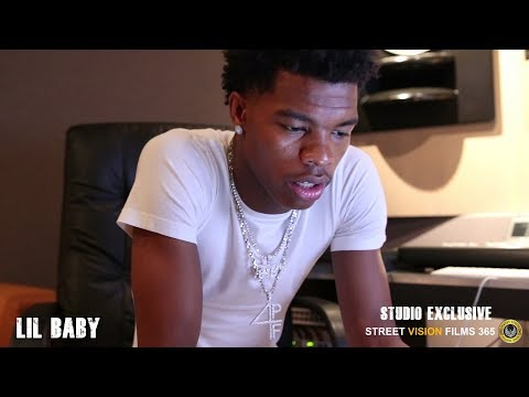 Lil Baby Exclusive Studio Session\ Inside QC Studios Atlanta Ga