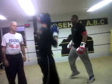 Sparring With Terrible Tim Witherspoon world champion boxer