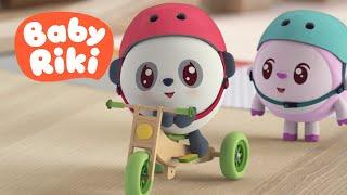 BabyRiki RO - Milu învață Să Meargă Cu Bicicleta | Desene Animate Dublate în Română Pentru Copii