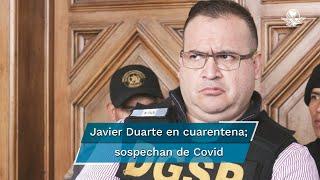 Fuentes federales confirmaron que una persona que visitó al exgobernador de Veracruz dio positivo a coronavirus y hasta el momento no presenta síntomas