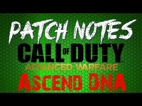 Advanced warfare patch notes 18th