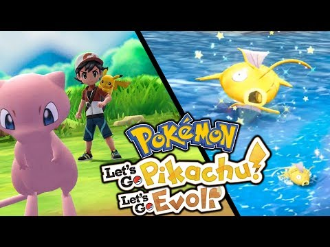 Mew & Shiny-hunt 😍  Let's Go Pikachu & Pokémon Let's Go Evoli