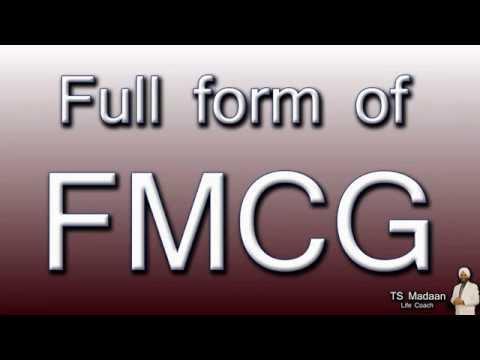 Full form of FMCG