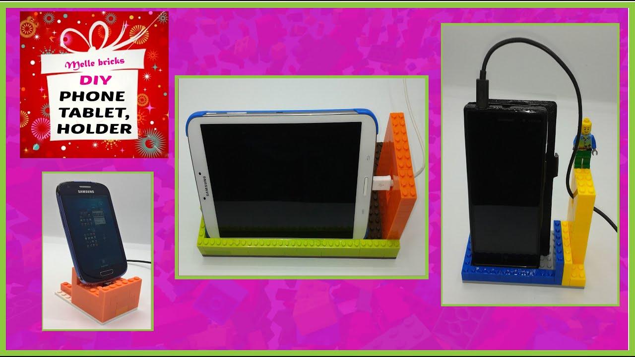 Make Charging Station Diy Lego Phone Tablet Holder Charging Station Youtube
