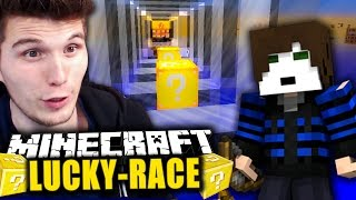 NEUER LUCKYBLOCK SPIELMODUS! & GLP's HINTERLISTIGE ATTACKE ✪ Minecraft LUCKRACE mit GermanLetsPlay
