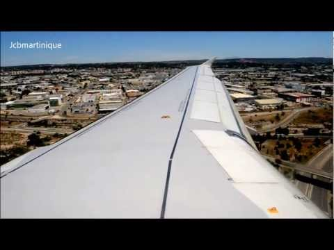 Air France Airbus A320 Landing at Marseille Provence Airport
