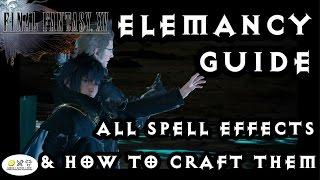 15 Final Fantasy - Elemancy Rehberi. TÜM sihir yapmayı! Gelişmiş yeni başlayanlar için.