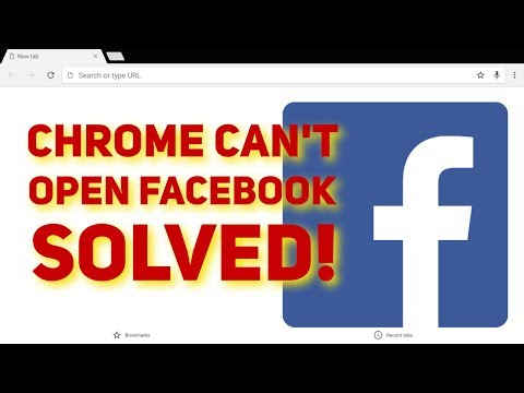 Facebook Won't Open In Chrome SOLVED