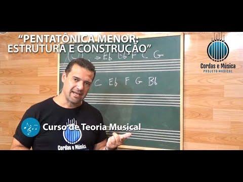 Teoria Musical - PENTATÔNICA MENOR: Construção e Estrutura