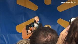 We saw the Wal-Mart Yodel Boy Mason Ramsey in concert!