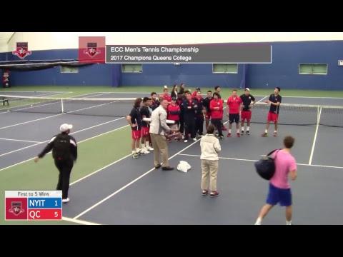 ECC Men's Tennis Championship Final - NYIT vs. Queens