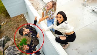 WE LOCKED OUT OUR BOYFRIENDS! *PRANK*
