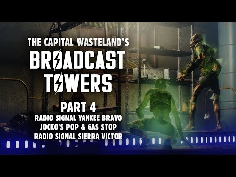 Broadcast Towers 4: Signals Yankee Bravo & Sierra Victor - Plus, Jocko's Pop & Gas Stop