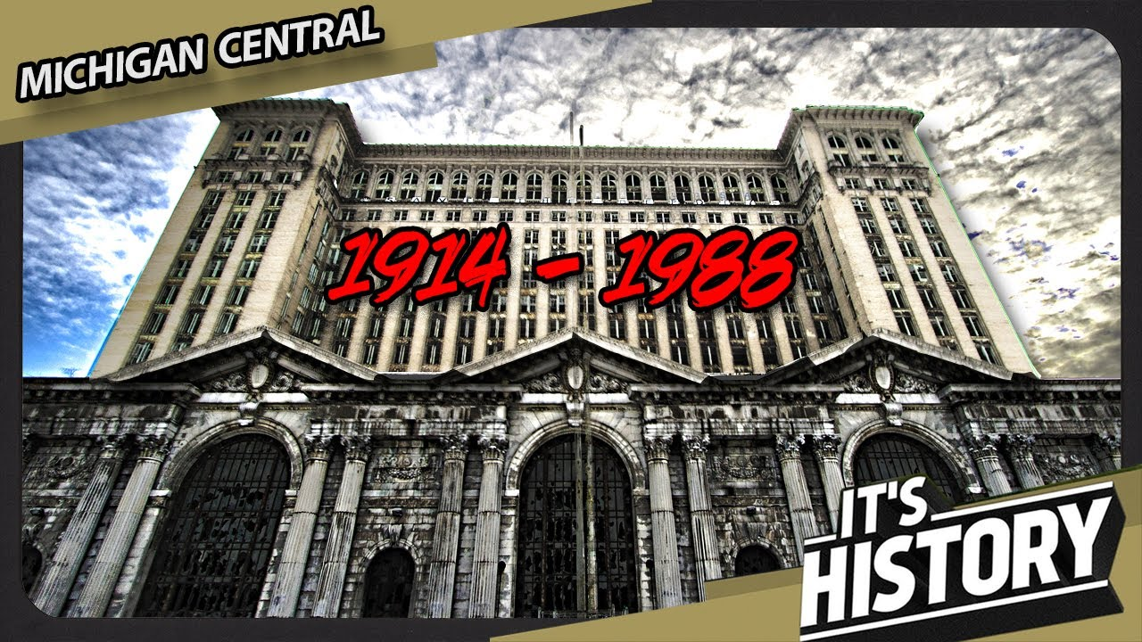 How the World's Tallest Train Station was ABANDONED - The story of  Michigan Central - IT'