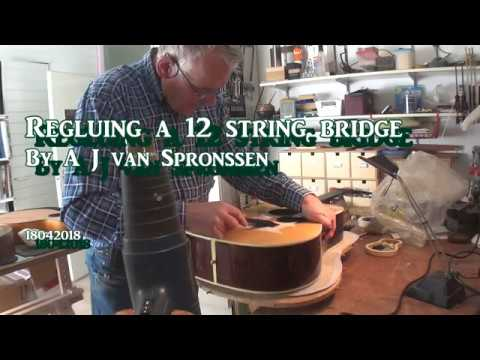 regluing a 12 string bridge