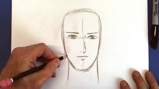 How to Draw a Handsome Manga Boy - for Beginners