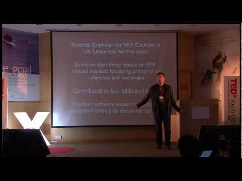 How to break ground within the Indian VFX industry: Pete Draper at TEDxYouth@Chennai