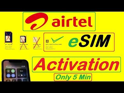 Airtel ESIM Activation | Airtel Esim Activation Prepaid Sim | How To Activate Airtel Esim