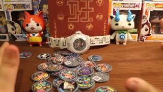 Repeat youtube video 36 QR CODE GIVEAWAY! | Series 2 Yo Kai Watch Medal QR Codes!