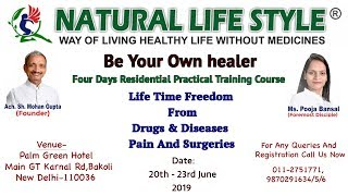 20 23 June JOIN our 4 Days C to improve your health level by the art of eating 2019 at Delhi
