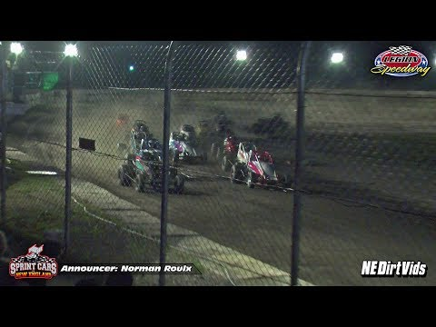 Highlights: Sprint Cars of New England at Legion Speedway 8-4-2017